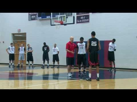 Defensive Close Outs - 5 Keys With Jim Huber - Defense Drills