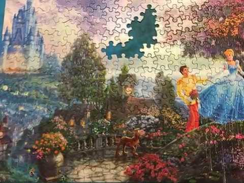 Cinderella Wishes Upon a Dream Puzzle