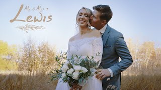 Mr. & Mrs. Lewis. Wedding video.