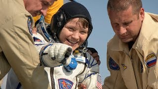 Expedition 59 Crew Lands Safely in Kazakhstan