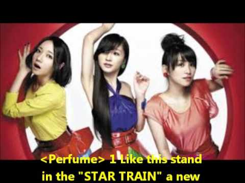Perfume1 Like this stand in the STAR TRAIN a new start line
