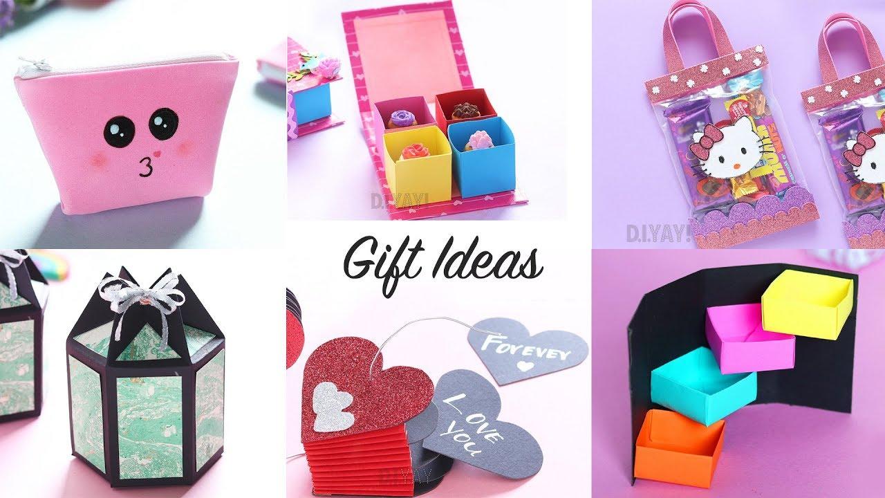 6 Easy Gift Ideas | DIY Gift Boxes | Gift Ideas