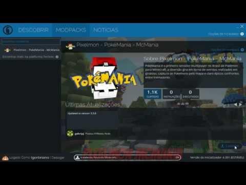 Servidor de Pokemon - Pixelmon - Pokemania - TUTORIAL #2