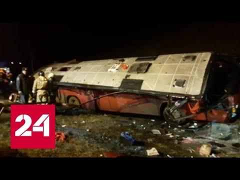 В результате аварии в Липецкой области пострадали 9 человек, в их числе ребенок - Россия 24