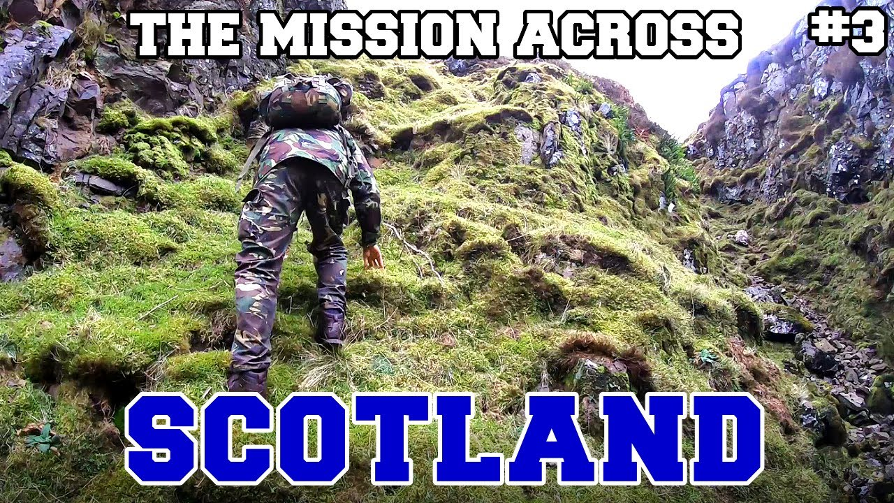 Attempting to cross SCOTLAND in a completely straight line. (PART 3: PISSED OFF FARMER)