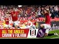All the Angles | Edinson Cavani's stunning chip v Fulham | Manchester United