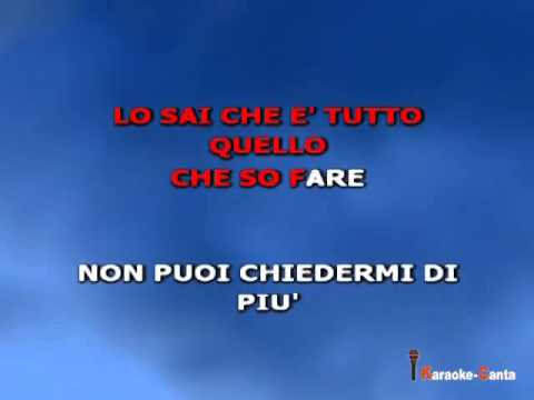 Tiromancino - Liberi  (by karaoke-canta)