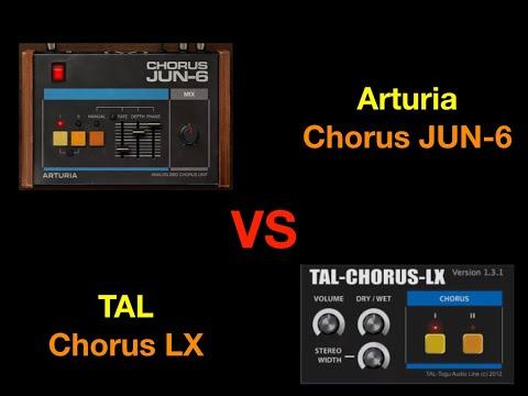 Arturia Chorus JUN-6 VS TAL Chorus LX - 100% sound
