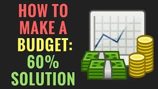How to Make A Budget | The 60% Solution Explained