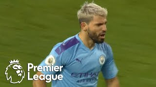 Sergio Aguero equalizes for Man City v. Crystal Palace | Premier League | NBC Sports