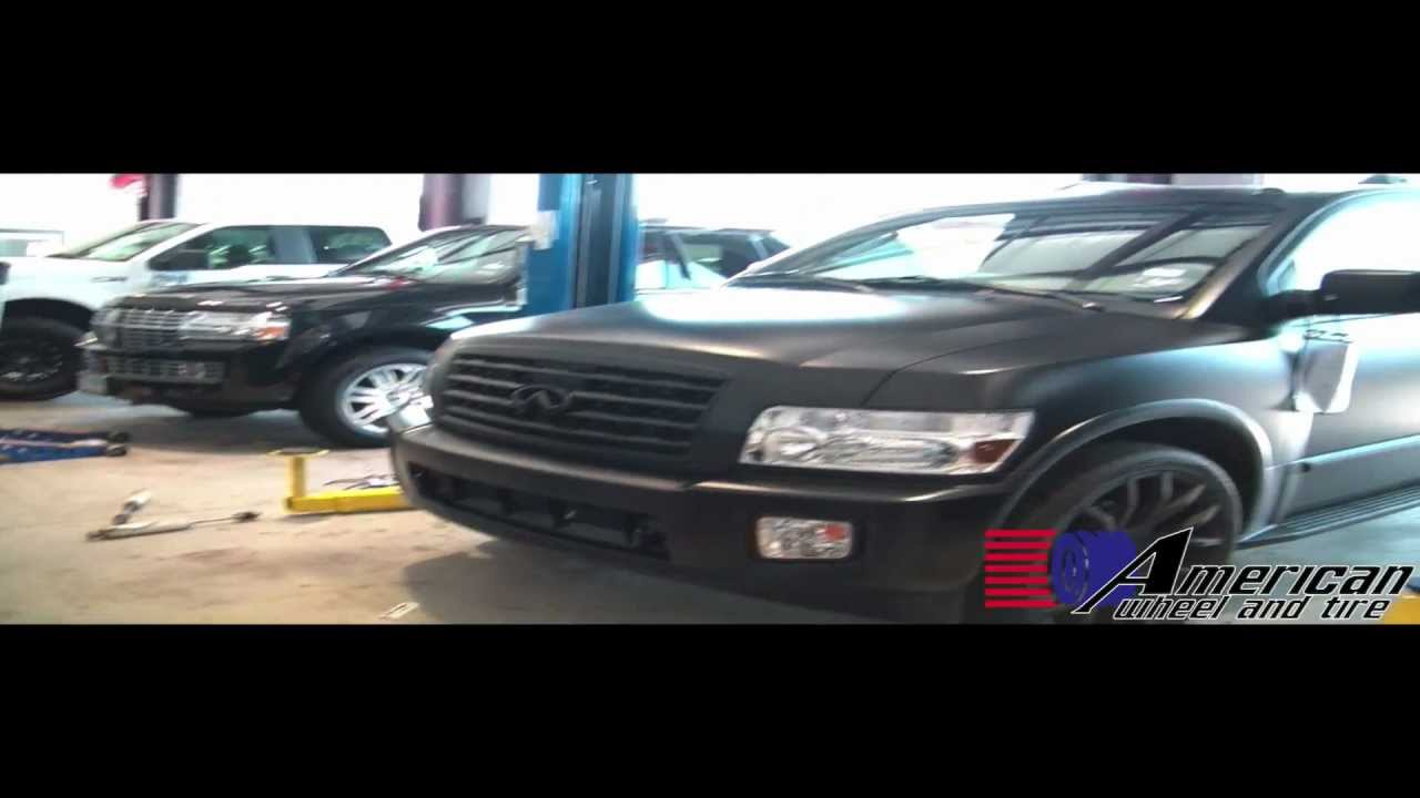 Flat black infiniti qx56 owned by owen daniels 81 from the flat black infiniti qx56 owned by owen daniels 81 from the houston texans youtube vanachro Choice Image