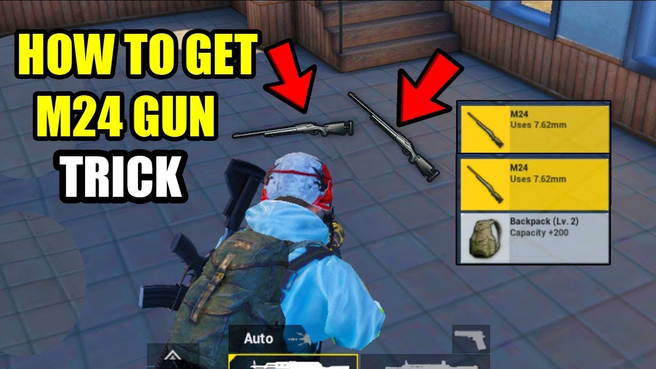 Pubg Mobile M24 - Game and Movie