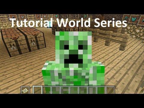 Minecraft Xbox - Tutorial World - Clothes Shop! (11)
