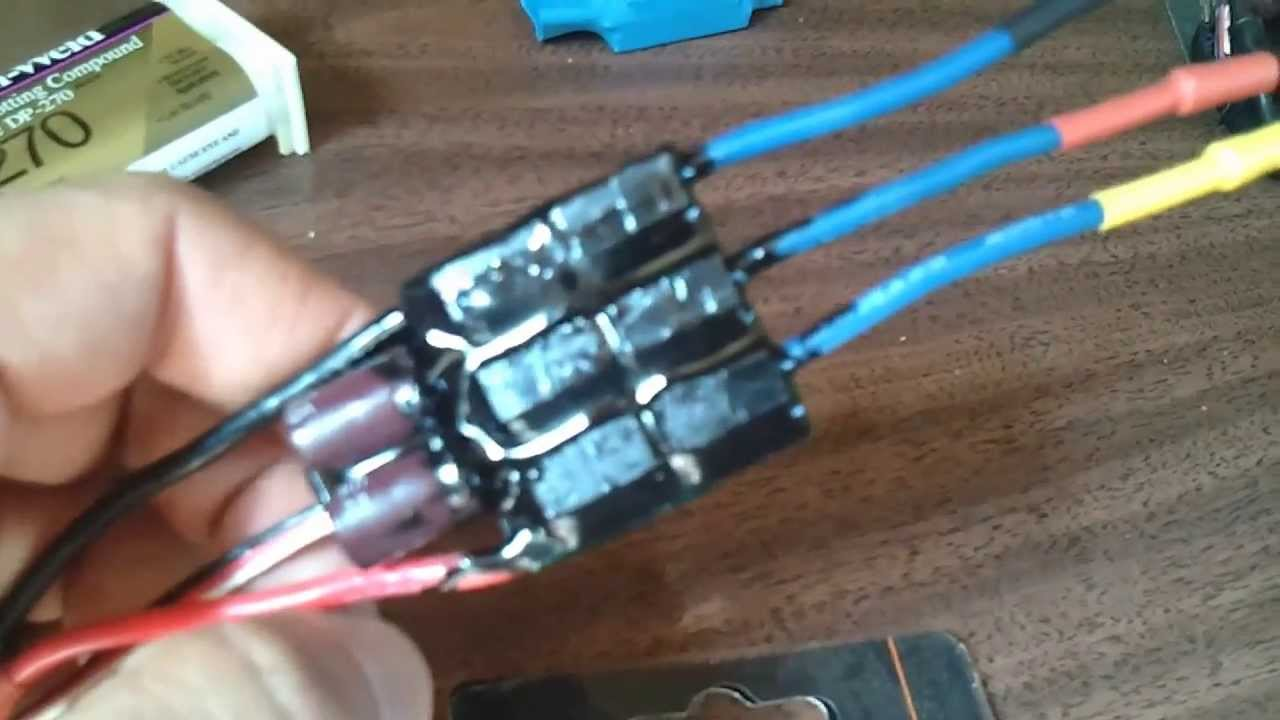 How To Waterproof An Esc Part 1 2 Youtube