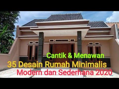 35 Desain Rumah Minimalis Modern Dan Sederhana 2020 Youtube