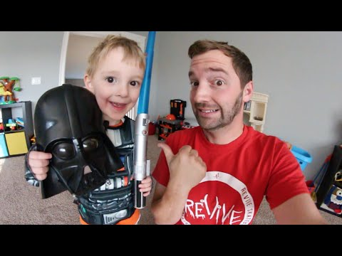 father gives son a star wars quiz youtube. Black Bedroom Furniture Sets. Home Design Ideas