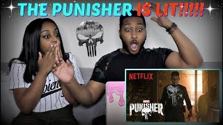 Marvel's The Punisher | Official Trailer | Netflix REACTION!!!