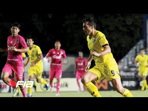 Borja Navarro - 3 GOALS - Pattaya United 4-1 Ayutthaya FC - Yamaha Thai League 1