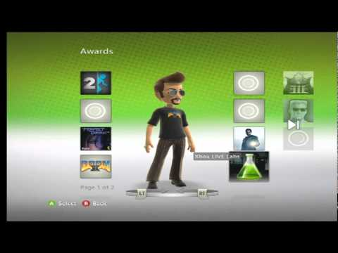 Xbox 360 Avatar Awards.