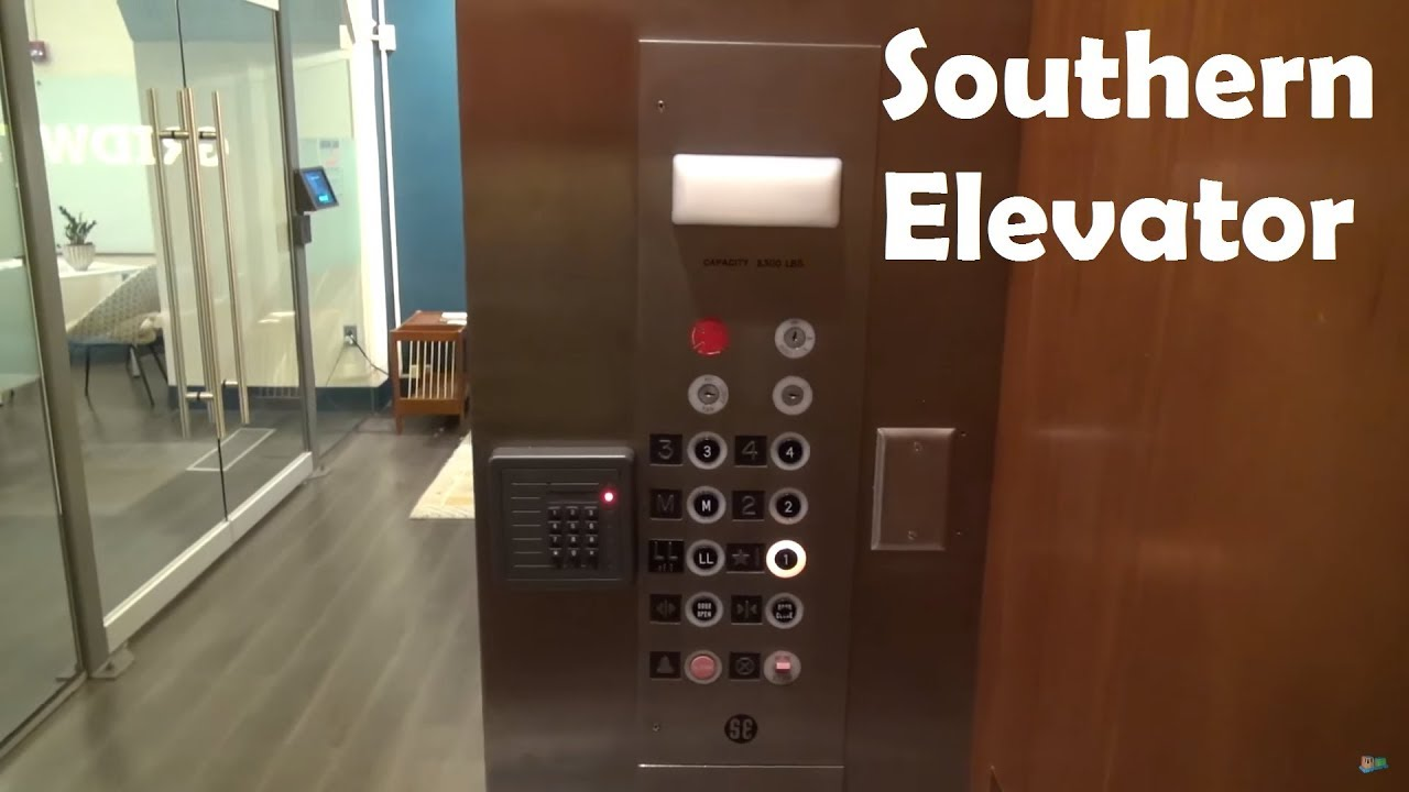 Southern Hydraulic Elevator at the old Kresge's Building, Durham, NC
