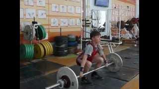 Хафизов Илья, 14 лет, вк 38 Рывок 41 кг