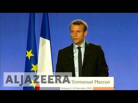 France: Former minister Emmanuel Macron to run for president