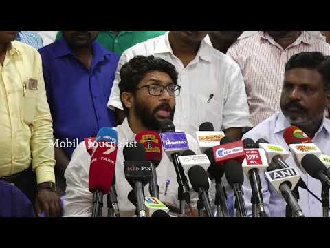 Gujarat Jignesh Mevani MLA Meet Thirumavalavan in Chennai | Jignesh Mevani Press Meet in Chennai