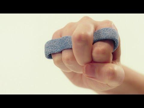 Yoke orthosis middle finger  Orficast Instructional Movie 12