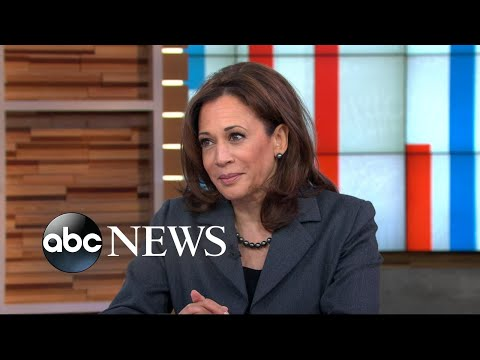 Senator Kamala Harris addresses 2020 rumors