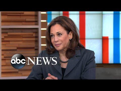 Senator Kamala Harris addresses 2020 rumors