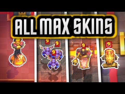 ALL Cards MAXED OUT Star Level SKINS!