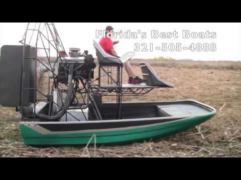 Green Airboat 350 sbc w: Gearbox