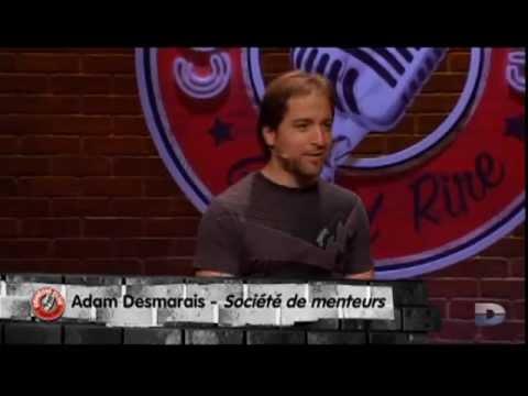 Adam Desmarais, grand rire COMEDIE CLUB: société de menteurs