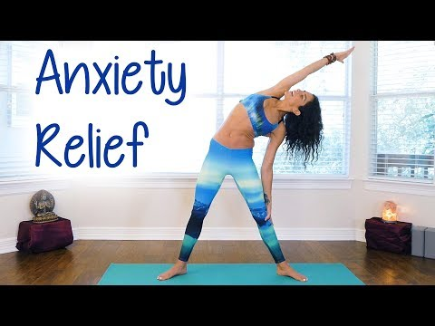 Fast Anxiety Relief with Jess ♥ Beginners Yoga for Relaxation, Sleep, Stress Relief, At Home