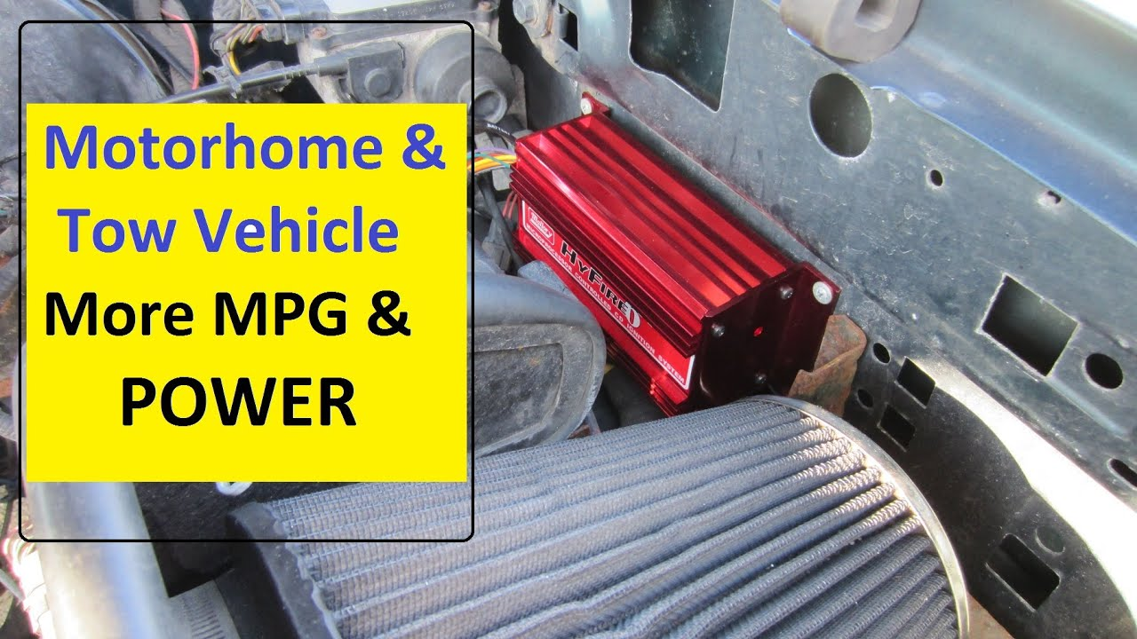 RV and Tow Vehicle More MPG & Power - YouTube
