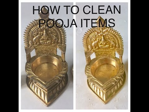 HOW TO CLEAN POOJA VESSELS IN TAMIL
