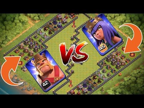 KING VS QUEEN! - TROLL BASE! || CLASH OF CLANS || Let's Play CoC [Deutsch/German HD]