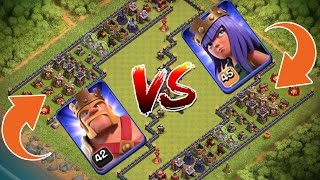 KING VS QUEEN! - TROLL BASE! || CLASH OF CLANS || Let's Play CoC [Deutsch/German HD]