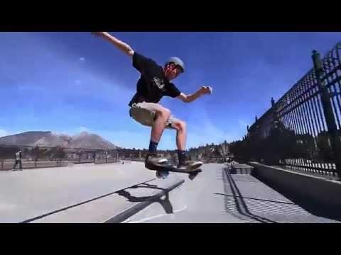 Лучшие трюки на рипстике (роллерсерфе) от команды Razor (2015 Colorado Road Trip)
