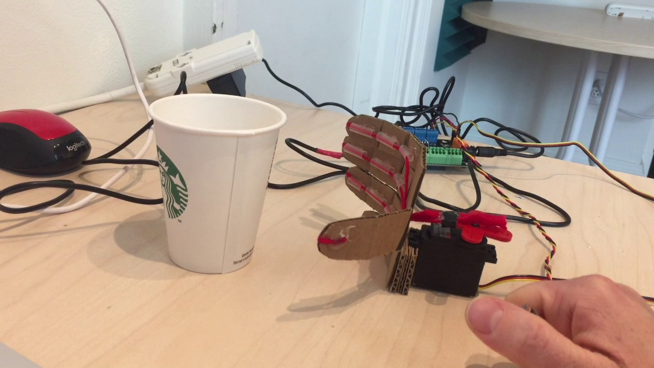Making a Robot Hand with Hummingbird - BirdBrain Technologies