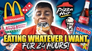 EATING WHATEVER I WANT FOR 1 DAY | DREAM CHEAT DAY