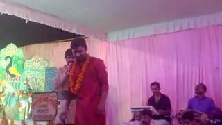 Vivek upadhyay Ek radha ek Meera live