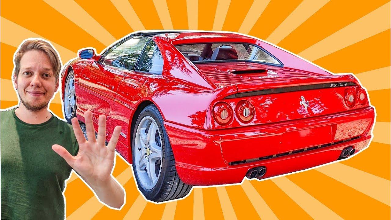 5 Motivi per ODIARE e AMARE la Ferrari F355 😂