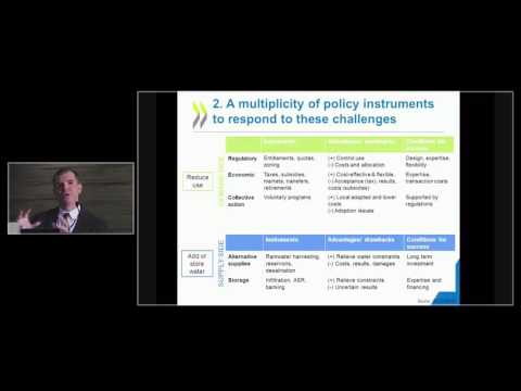 Guillaume Gruere - What Policies to Manage Groundwater Use in Agriculture?