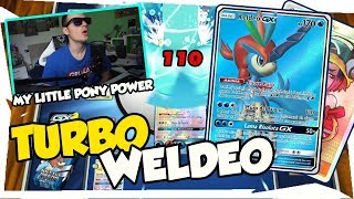 TURBO WELDEO| KELDEO GX+WELDER Accoppiata PERFETTA| Mazzo Pokemon Eclissi Cosmica|Pokemon TCGO ITA