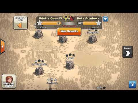 Adults Over 21 Perfect War