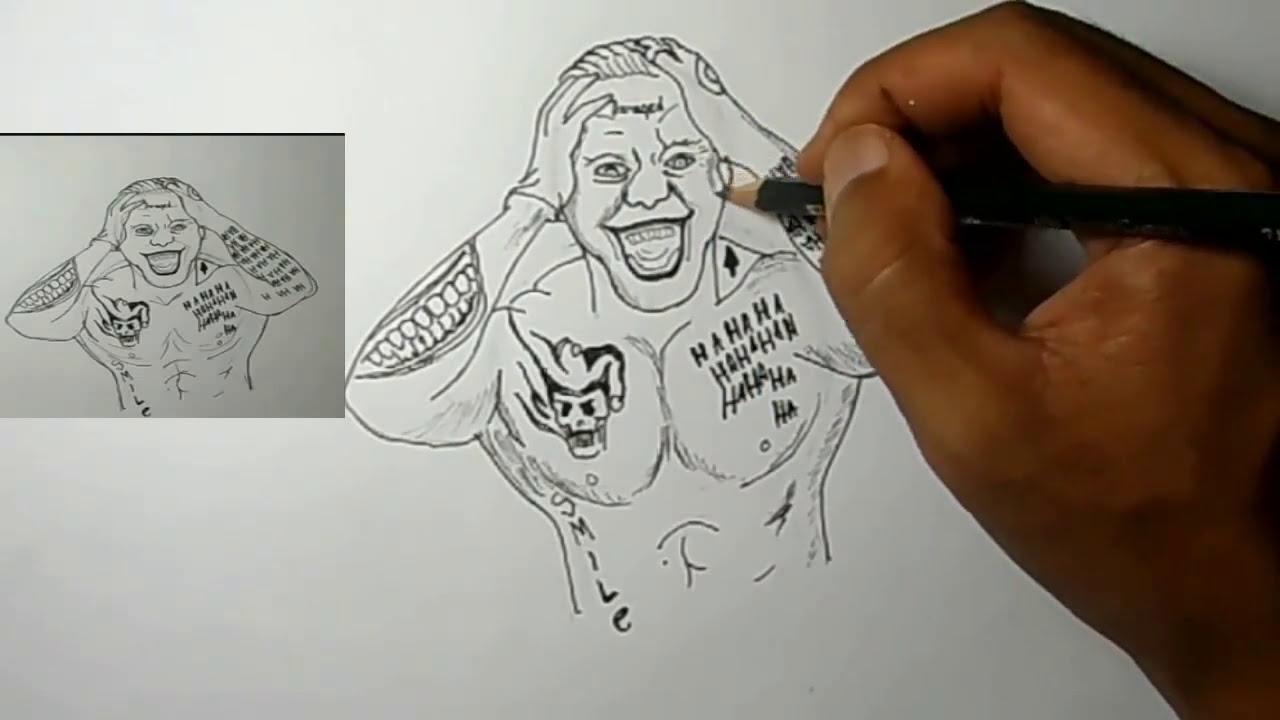 Cara Menggambar Joker 8 Langkah YouTube