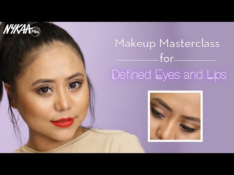 Eyes & Lips Makeup Guide For Asian Face Ft. Annalia Zhimomi | Part 2 | Quarantine N' Learn | Nykaa