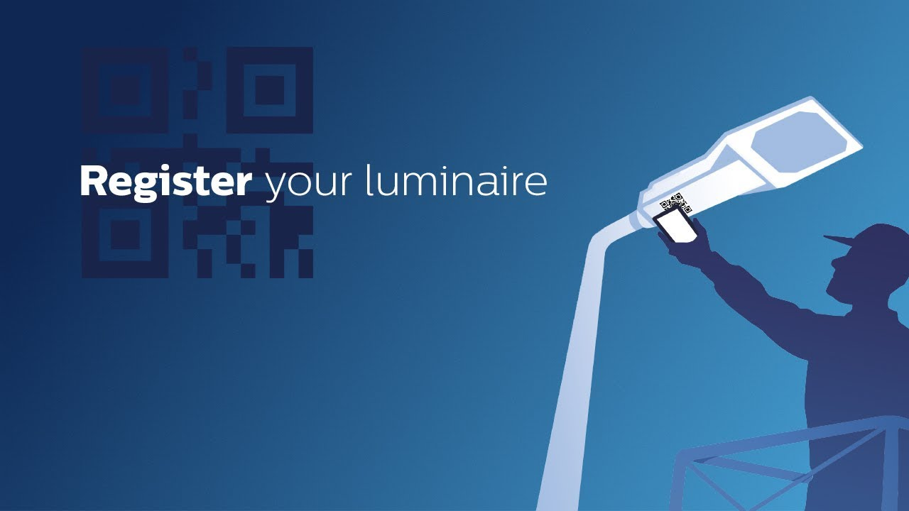 Philips Service tag: how to register your luminaire