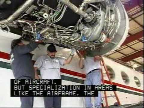 Aircraft Mechanic Career Overview - YouTube